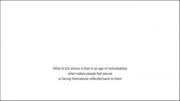 ECHO ELIZA ALEXA by Stefani Glauber